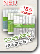 Designpapier Double Basic
