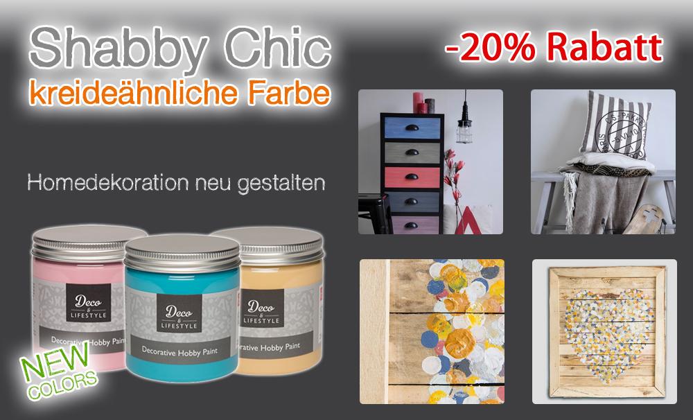 Deco Lifestyle Shabby Chic Farbe In Vielen Farben