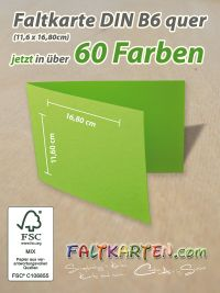 B6 Doppelkarten und Kuvert im 10er-Pack Zement Mosaic