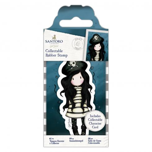 Gorjuss Santoro - Mini Gummistempel - Nr. 49 Piraterei