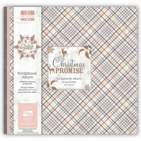 "First Edition Scrapbook Album ""Christmas Promise"" 12""x12"""
