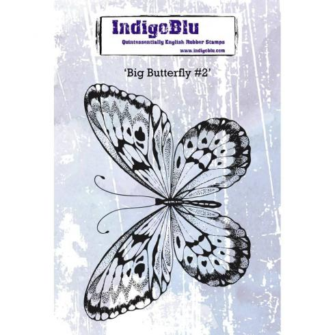 "IndigoBlu ""Big Butterfly"" A6 Rubber Stamp..."