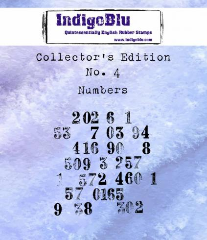 "IndigoBlu ""Collectors Edition 4"" A7 Rubber Stamp"