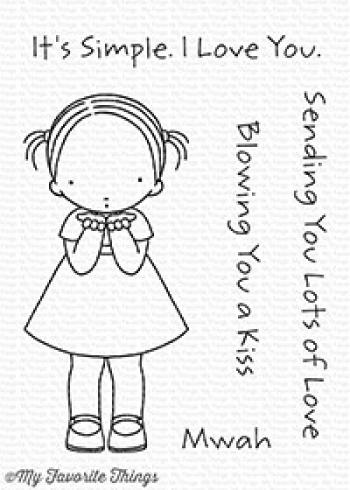 "My Favorite Things Stempelset ""Blowing Kisses"" Clear Stamp Set"