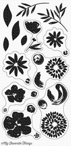 "My Favorite Things Stempelset ""Brushstroke Blooms"" Clear Stamp Set"
