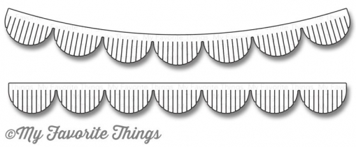 "My Favorite Things Die-namics ""Fringed Scallop Borders"""