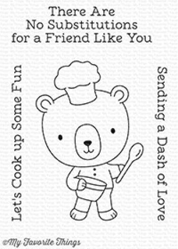 "My Favorite Things Stempelset ""Cook Up Some Fun"" Clear Stamp Set"