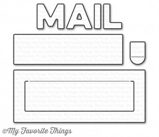 "My Favorite Things Die-namics ""Mail Delivery"""