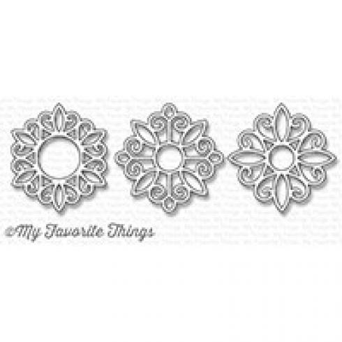 "My Favorite Things Die-namics ""Ornamental Medallion Trio"""