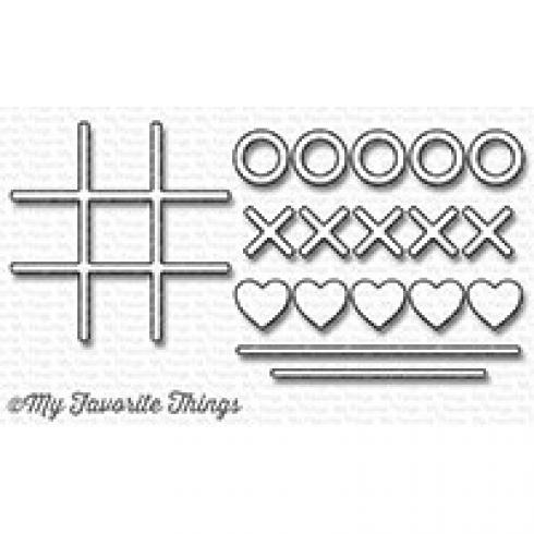 "My Favorite Things Die-namics ""Tic Tac Toe"""