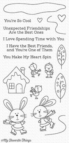 "My Favorite Things Stempelset ""You Make My Heart Spin"" Clear Stamp Set"