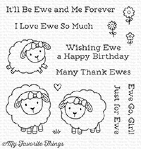 "My Favorite Things Stempelset ""Ewe and Me Forever"" Clear Stamp Set"