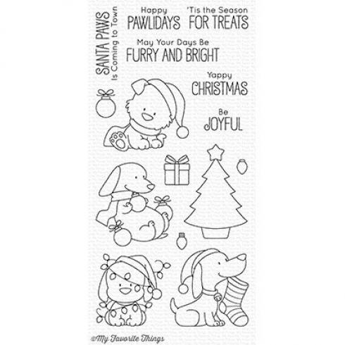 "My Favorite Things Stempelset ""Happy Pawlidays"" Clear Stamp Set..."