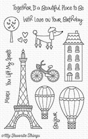 "My Favorite Things Stempelset ""In Paris"" Clear Stamp Set"