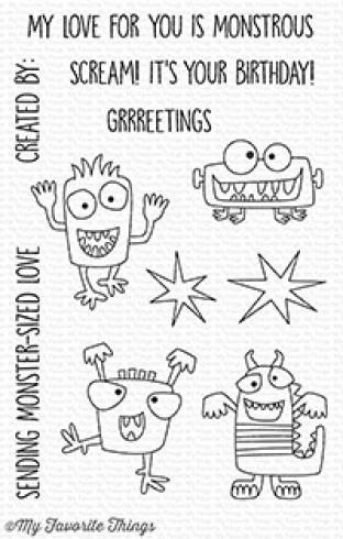 "My Favorite Things Stempelset ""Monster Sized"" Clear Stamp Set"
