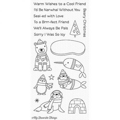 "My Favorite Things Stempelset ""Polar Pals"" Clear Stamp Set..."