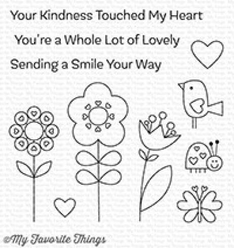 "My Favorite Things Stempelset ""Sending a Smile"" Clear Stamp Set"