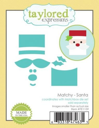 "Taylored Expressions Craft Die ""Matchy - Santa"""
