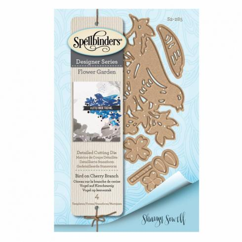 "Spellbinders Designer Die ""Bird on Cherry Branch"""