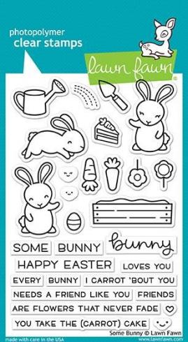 "Lawn Fawn Stempelset ""Some Bunny"" Clear Stamp"