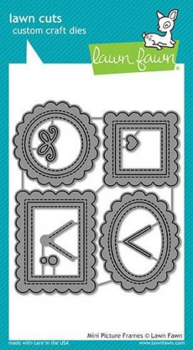 Lawn Fawn Craft Die - Mini Picture Frames