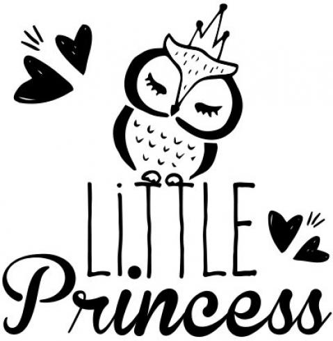 "Aladine Stempel ""Little Princess"" Wooden Stamp - Holzstempel"