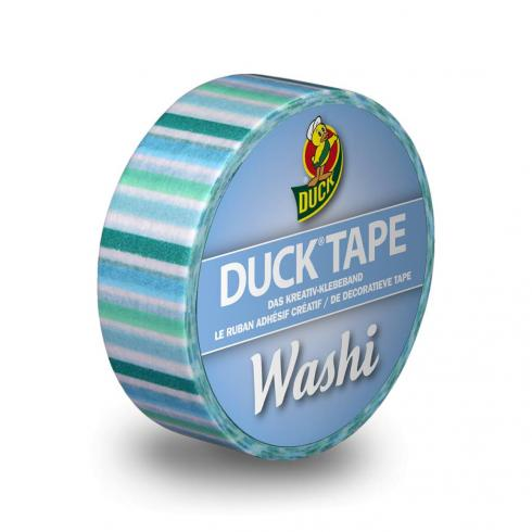"Duck Tape  ""Blue Stripes"" Washi Tape"
