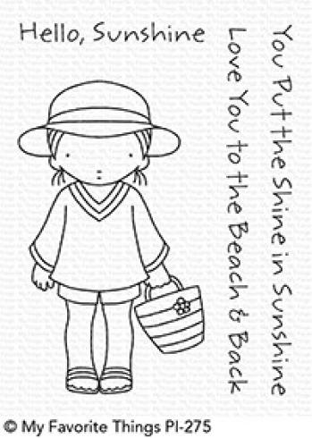"My Favorite Things Stempelset ""Pure Innocence Beach Cutie"" Clear Stamp Set"