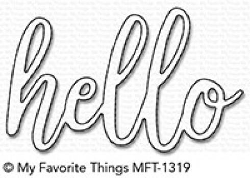 "My Favorite Things Die-namics ""My Favorite Things """