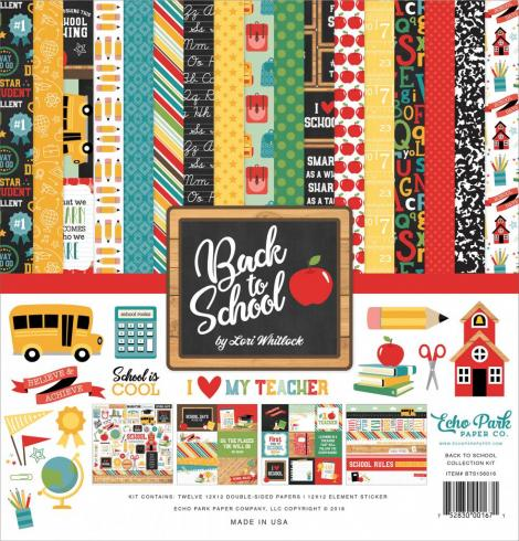"Echo Park ""Back to School"" 12x12"" Collection Kit"