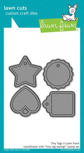 Lawn Fawn Craft Die - Tiny Tags