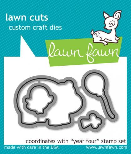 Lawn Fawn Craft Dies - Year Four