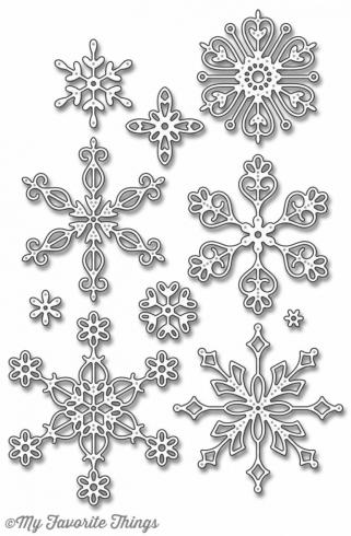 "My Favorite Things Die-namics ""Stylish Snowflakes"""