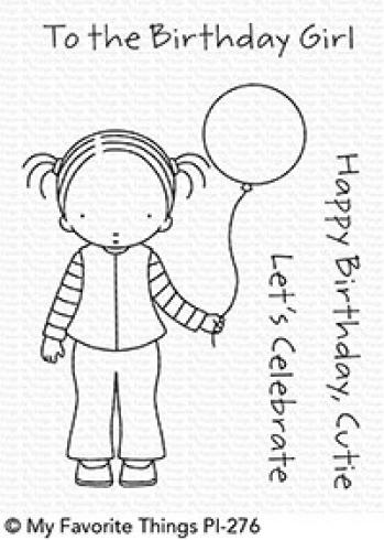 "My Favorite Things Stempelset ""Birthday Cutie"" Clear Stamp Set"