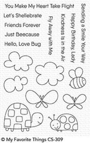"My Favorite Things Stempelset ""Love Bugs"" Clear Stamp Set"