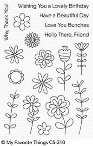 "My Favorite Things Stempelset ""Love Buds"" Clear Stamp Set..."