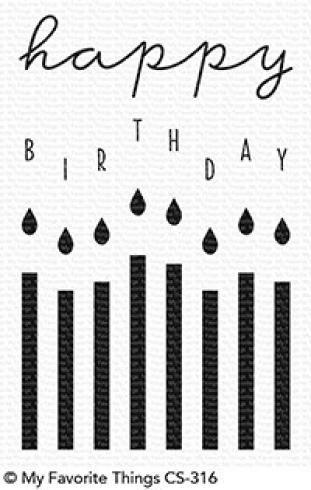 "My Favorite Things Stempelset ""Happy Birthday Candles"" Clear Stamp Set..."