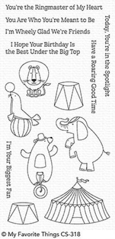 "My Favorite Things Stempelset ""The Greatest Show"" Clear Stamp Set..."