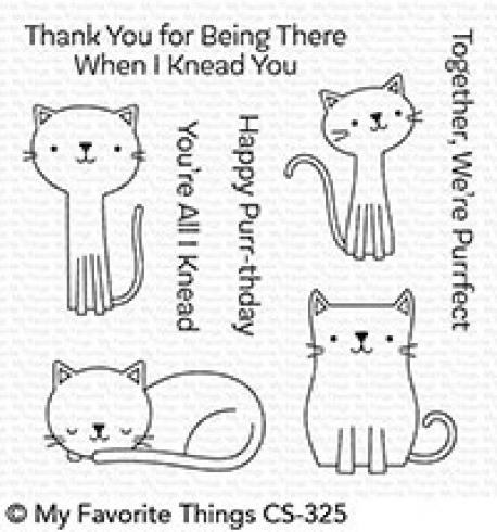"My Favorite Things Stempelset ""Cute Cats"" Clear Stamp Set"