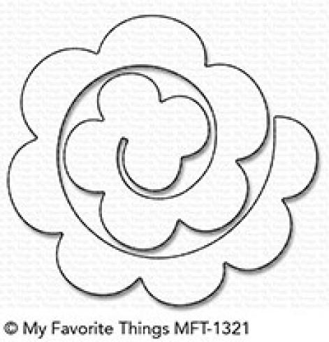 "My Favorite Things Die-namics ""Rolled Rose"""