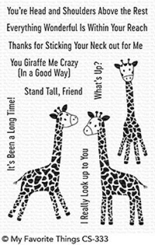 "My Favorite Things Stempelset ""Playful Giraffes"" Clear Stamp Set"