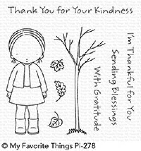 "My Favorite Things Stempelset ""Pure Innocence Sending Blessings"" Clear Stamp Set"