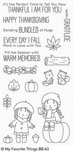 "My Favorite Things Stempelset ""Fall Friends"" Clear Stamp Set"