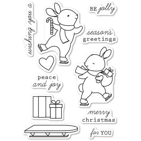 "Memory Box Stempelset ""Be Jolly"" Clear Stamp"