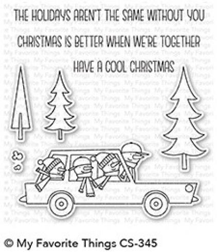 "My Favorite Things Stempelset ""Cool Christmas"" Clear Stamp Set"