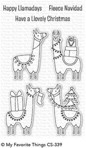 "My Favorite Things Stempelset ""Happy Llamadays"" Clear Stamp Set"