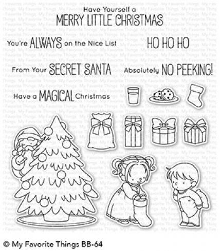 "My Favorite Things Stempelset ""Secret Santa"" Clear Stamp Set"