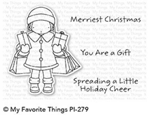 "My Favorite Things Stempelset ""Pure Innocence Holiday Cheer"" Clear Stamp Set"