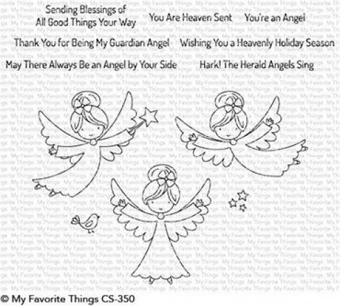 My Favorite Things Stempelset Little Angels Clear Stamp CS 350