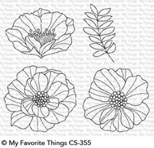 "My Favorite Things Stempelset ""Brilliant Blooms"" Clear Stamp Set"